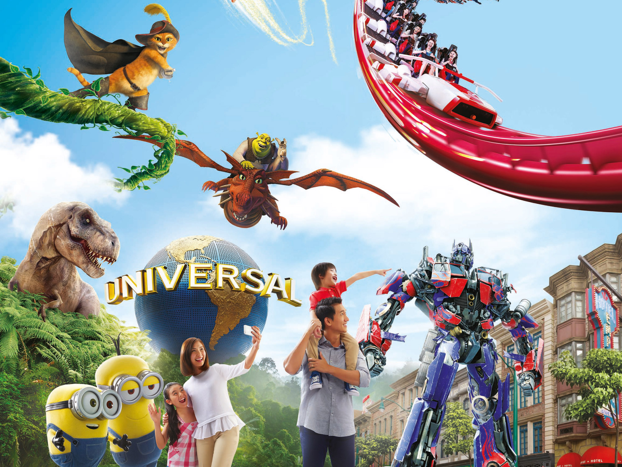 Universal Studios Singapore, Resorts World Sentosa