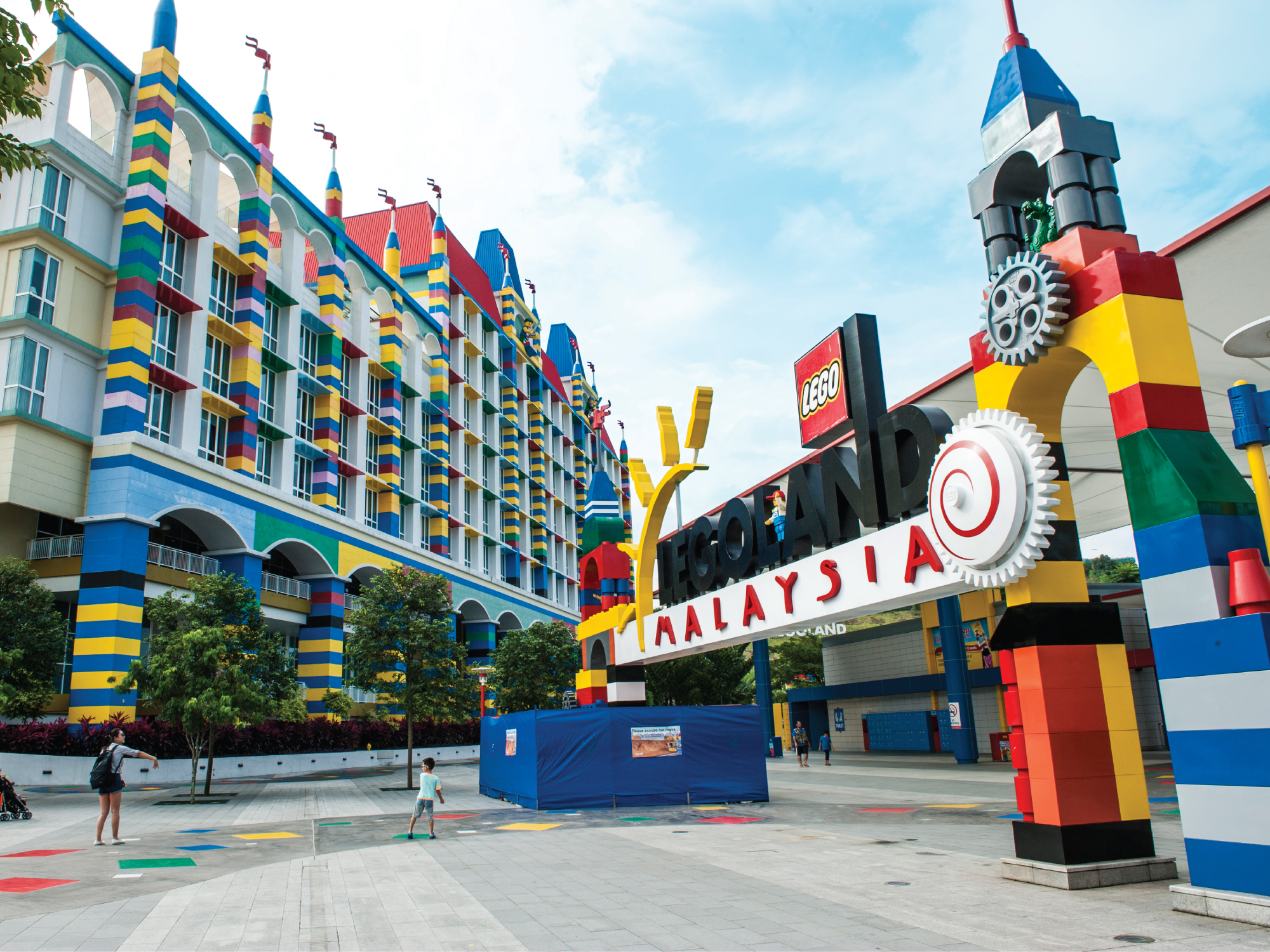 Johor Bahru Legoland - The Traveller