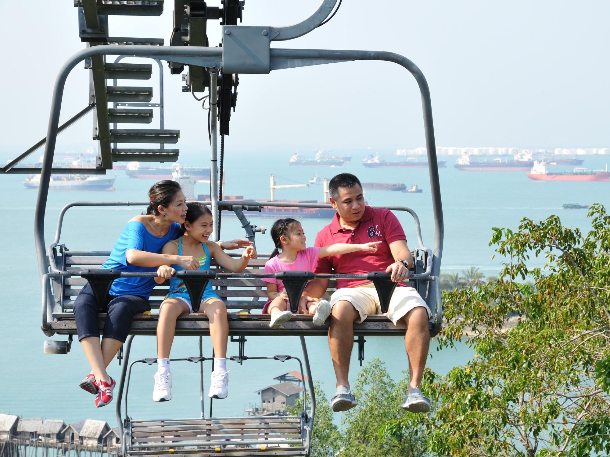 Skyline Luge Sentosa The Traveller Ampamp Singapore 2x